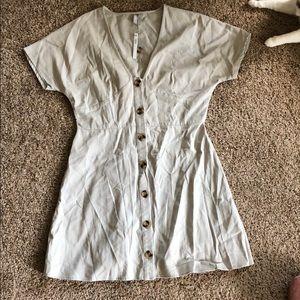 ASOS button dress